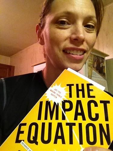 Look what arrived today! Thanks @chrisbrogan and @julien for a review copy of #Impact Equation :)