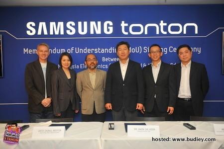 Samsung Smart TV Tonton