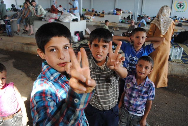 Relief effort for Syrian refugees in Kilis, southern Turkey. August 2012 (38)
