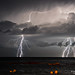 Sudden lightning storm, it all started with a spark by Francesco Magoga Photography