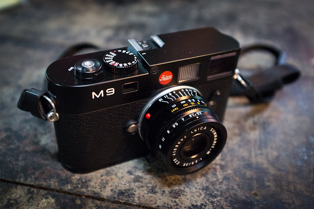My Leica M9 setup - shot with a X100