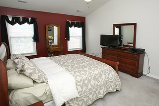 Vaulted master bedroom at 5214 Craigs Creek Drive