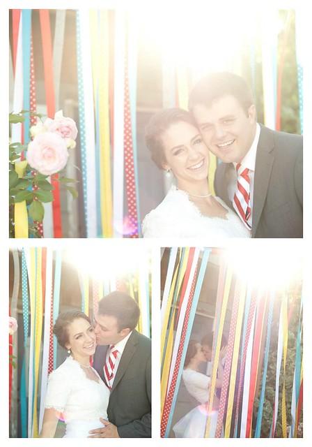Wedding Carnival Ribbo CUrtain