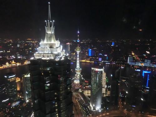 パークハイアット上海からの夜景