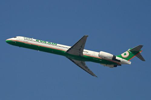 EVA Air (BR/EVA) / MD-90-30 / B-17917 / 02-06-2011 / HKG