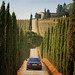 On our way to wine estate Casale Dello Sparviero by B℮n