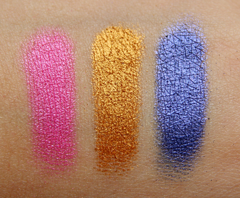 miyo metallic eyeshadow swatches