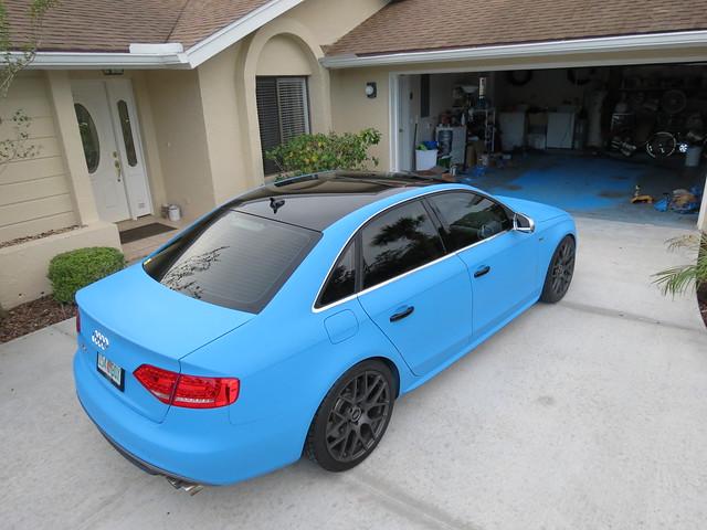 Plasti Dipped Whole Car Baby Blue