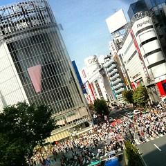 人に酔いました(~_~;) #tokyo #shibuya