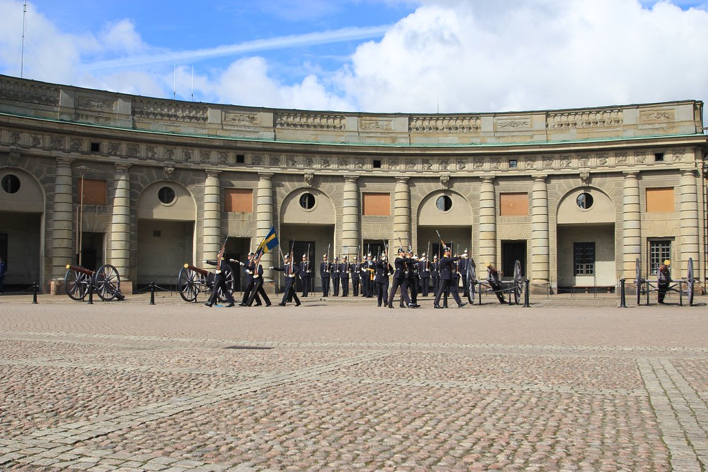 Changing of the Guards -Stockholm, Sweden