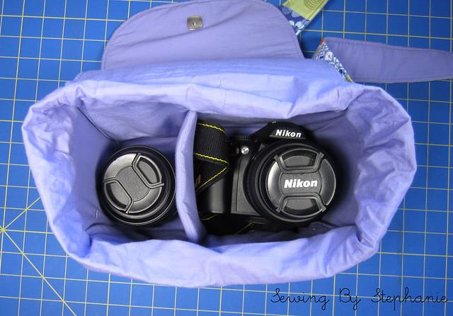 Inside Camera Bag