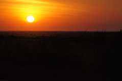 Sunrise leaving Hedland