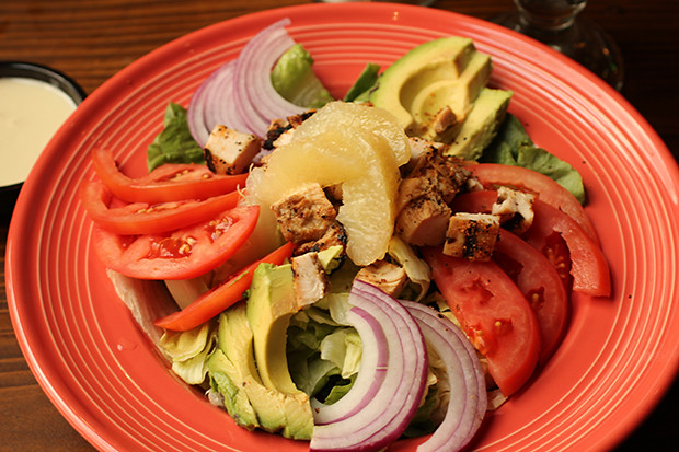 Red River Salad, Don Pablo's, Sarasota, FL, Restaurant Review