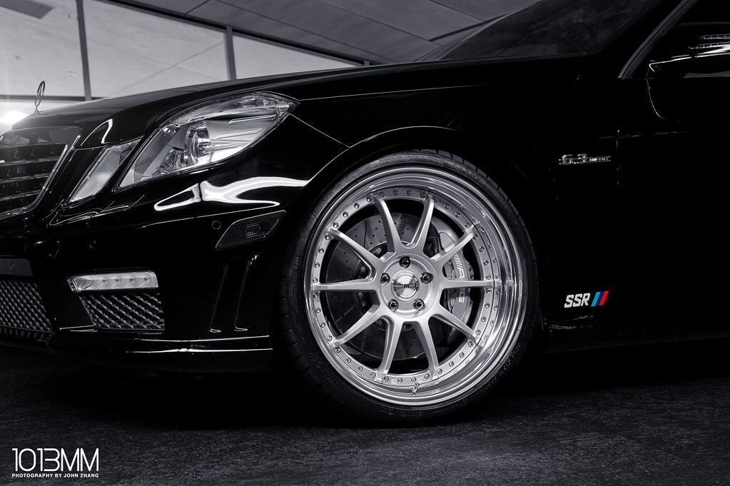 SSR Wheels Mercedez Benz E63 AMG