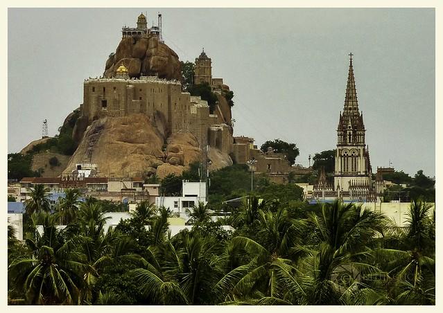 5. Rockfort Ucchi Pillayar Temple, Tiruchirappalli (Tamil Nadu)