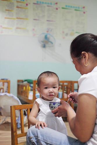 Phebe's orphanage visit