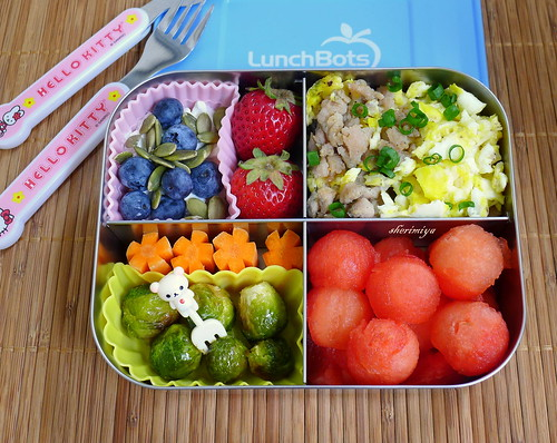 Breakfast For Lunch Bento by sherimiya ♥