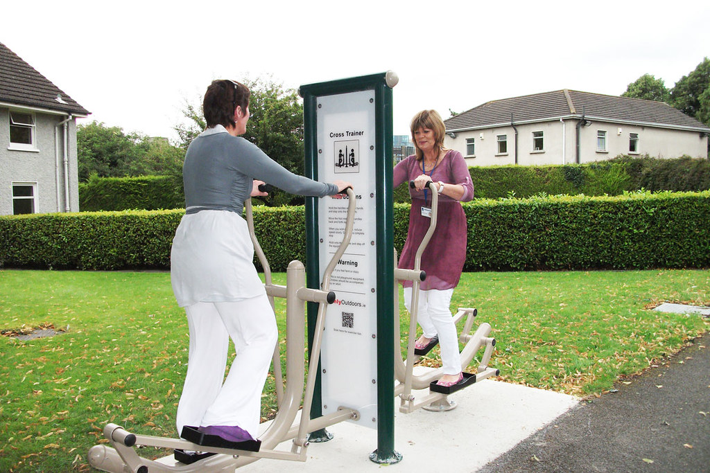 Wellness & Recovery Centre Outdoor Exercise Equipment at St. Patrick's University Hospital
