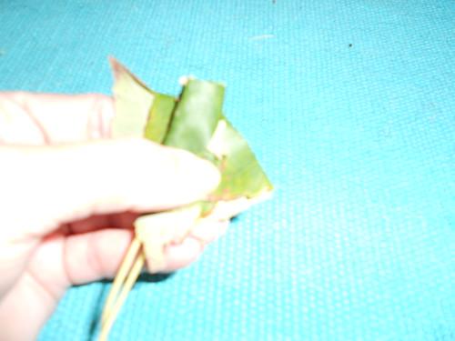 Fold 2nd leaf corners