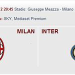 biglietti Milan-Inter , biglietti derby Milan-Inter 2012/13