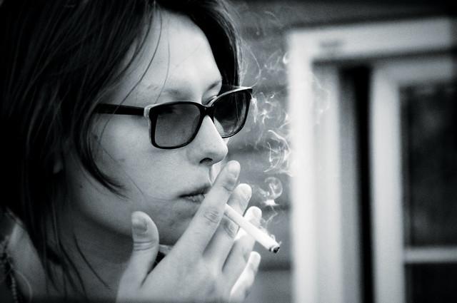 smoking girl | Flickr ...