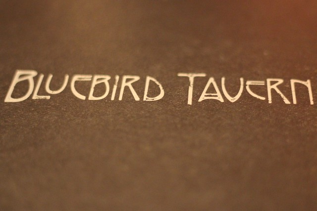 Menu - Bluebird Tavern in Burlington, VT