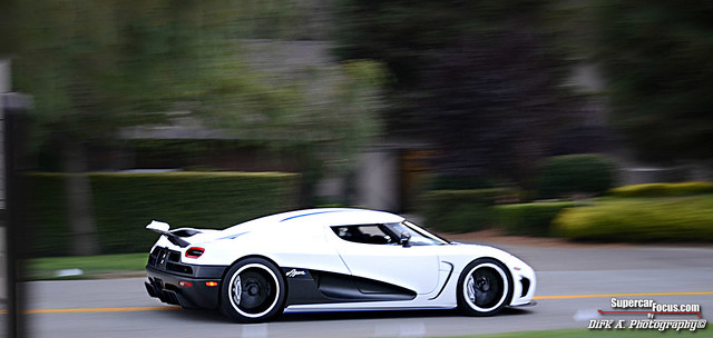 The 2013 Koenigsegg Agera R Whooshing Through The Roads Of California. This Is Only The Beginning...