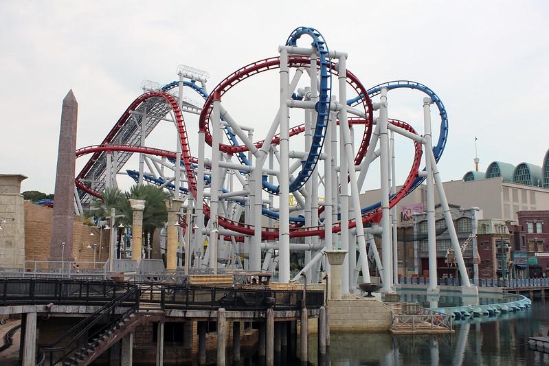 Universal Studios Singapore - Sci-Fi City