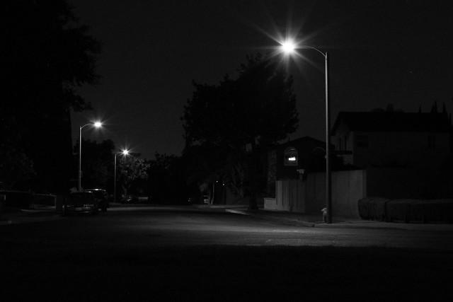 city street corner at night - photo #49