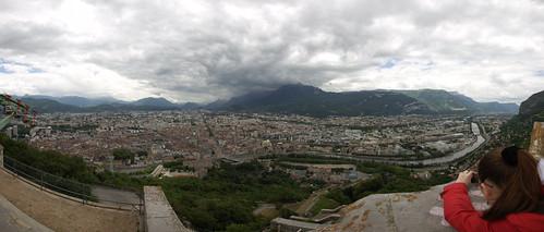 Panoramique depuis la Bastille