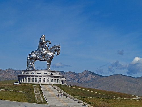 Chinggis Khaan Statue Complex Mongolia