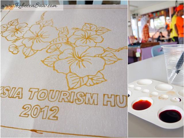 Malaysia tourism hunt 2012 - nor arfa batik terengganu
