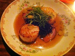 Dayboat Scallops - Fatty 'Cue, West Village