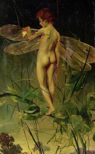 "Nellie Joshua (1902-1911), ""Fairy Boy"" (""Dragonfly"") (c. 1905 England)"