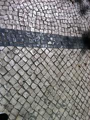Lisbon cobblestone