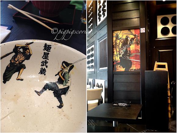 Menya Musashi, Raffles City, Singapore