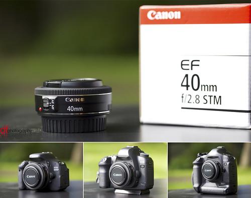 40mm f2.8 Pancake lens