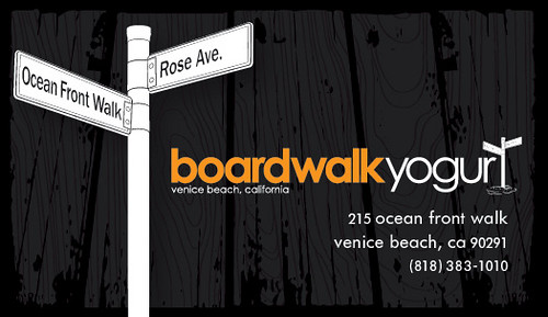 Boardwalk Yogurt Venice Beach