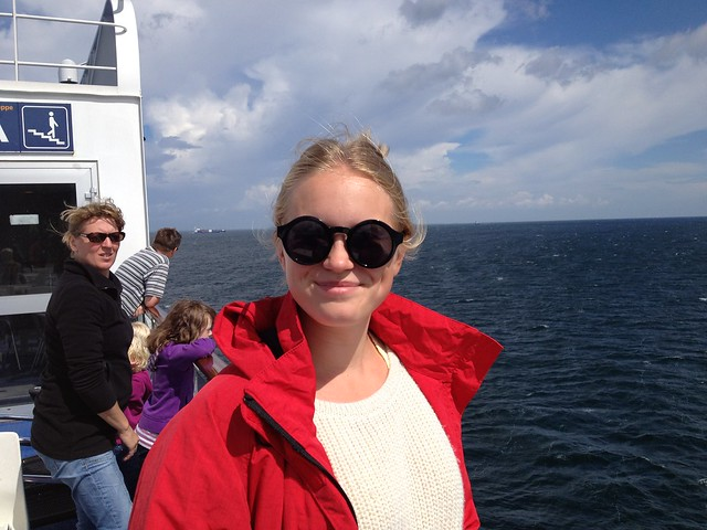 bateau entre l'Allemagne et le Danemark
