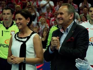 Joanna Mucha i Andrzej Kraśnicki