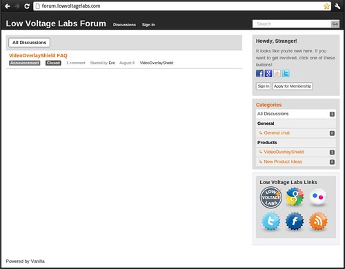 Low Voltage Labs Forum