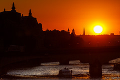 Sunset from Pont des Arts