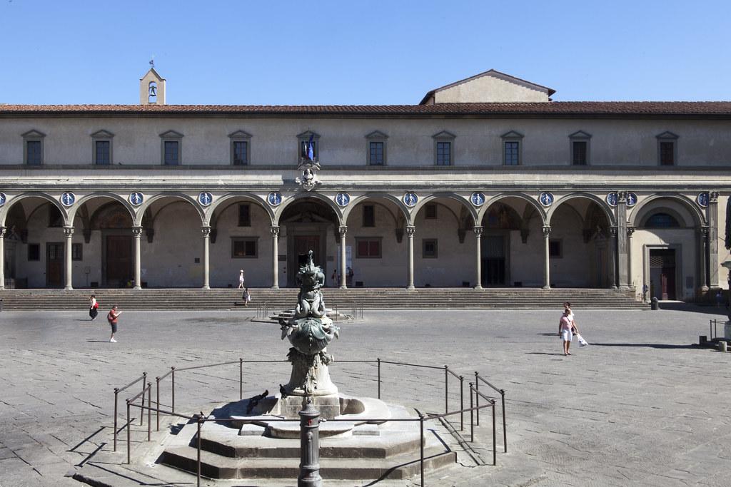 Hospital de los Inocentes, Filippo Brunelleschi
