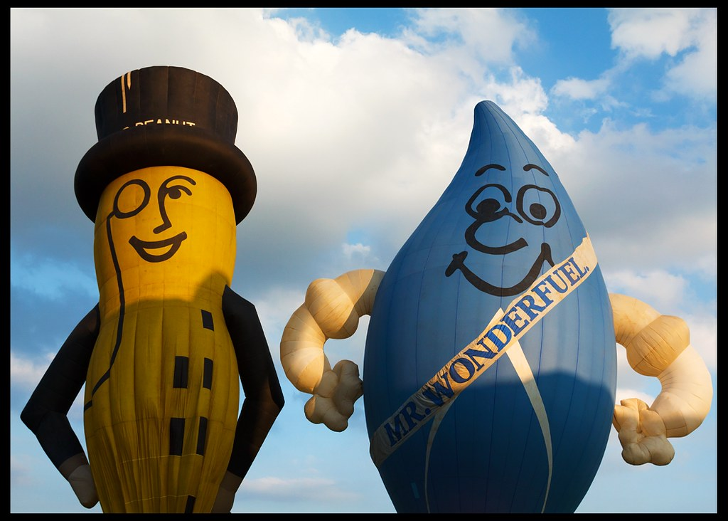 Mr Wonderfuel and Mr Peanut