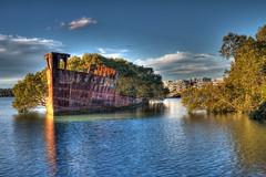 Shipwreck @ Homebush Bay - HDR