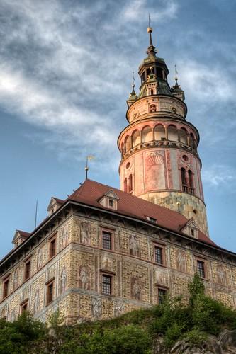 Tower at Český Castle