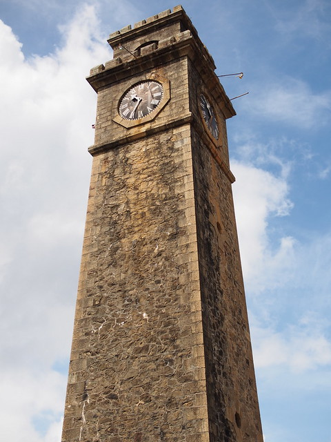 Galle, Fort Area, Clock Tower