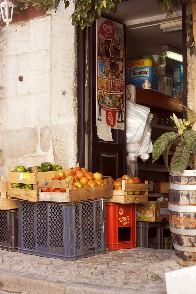 Tesoro 1: un puesto de frutas y verduras