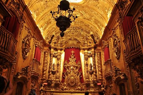 Interior do Mosteiro de São Bento