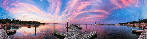 sunset panorama pier dock niksoftware colorefexpro4